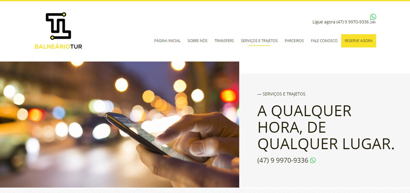 Imagem do site do BalnearioTur