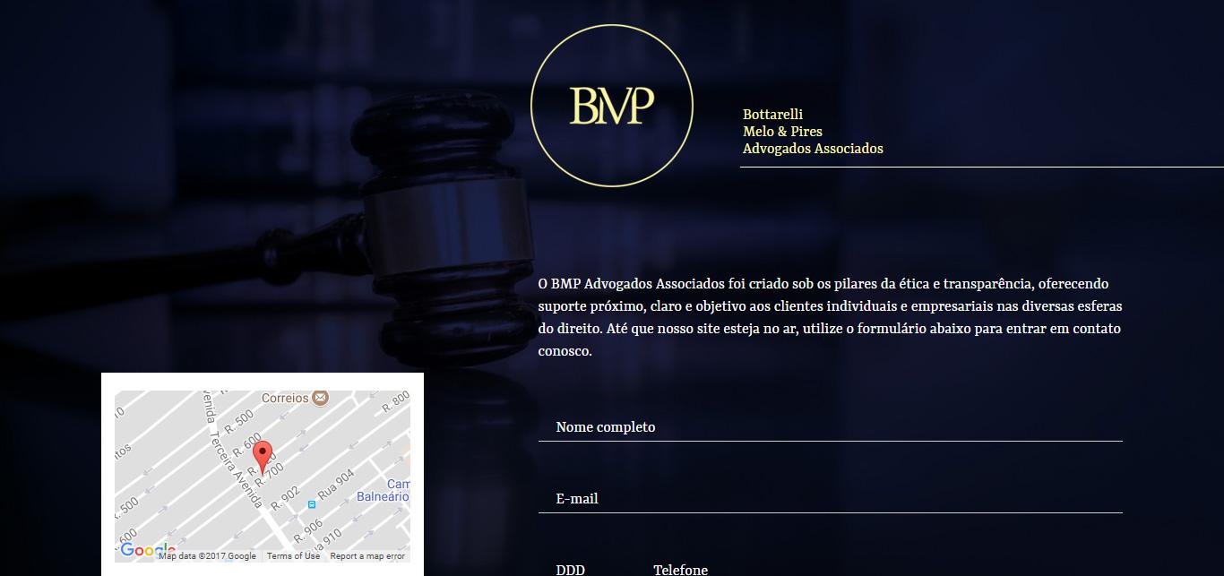 Imagem do site do BMP Advogados