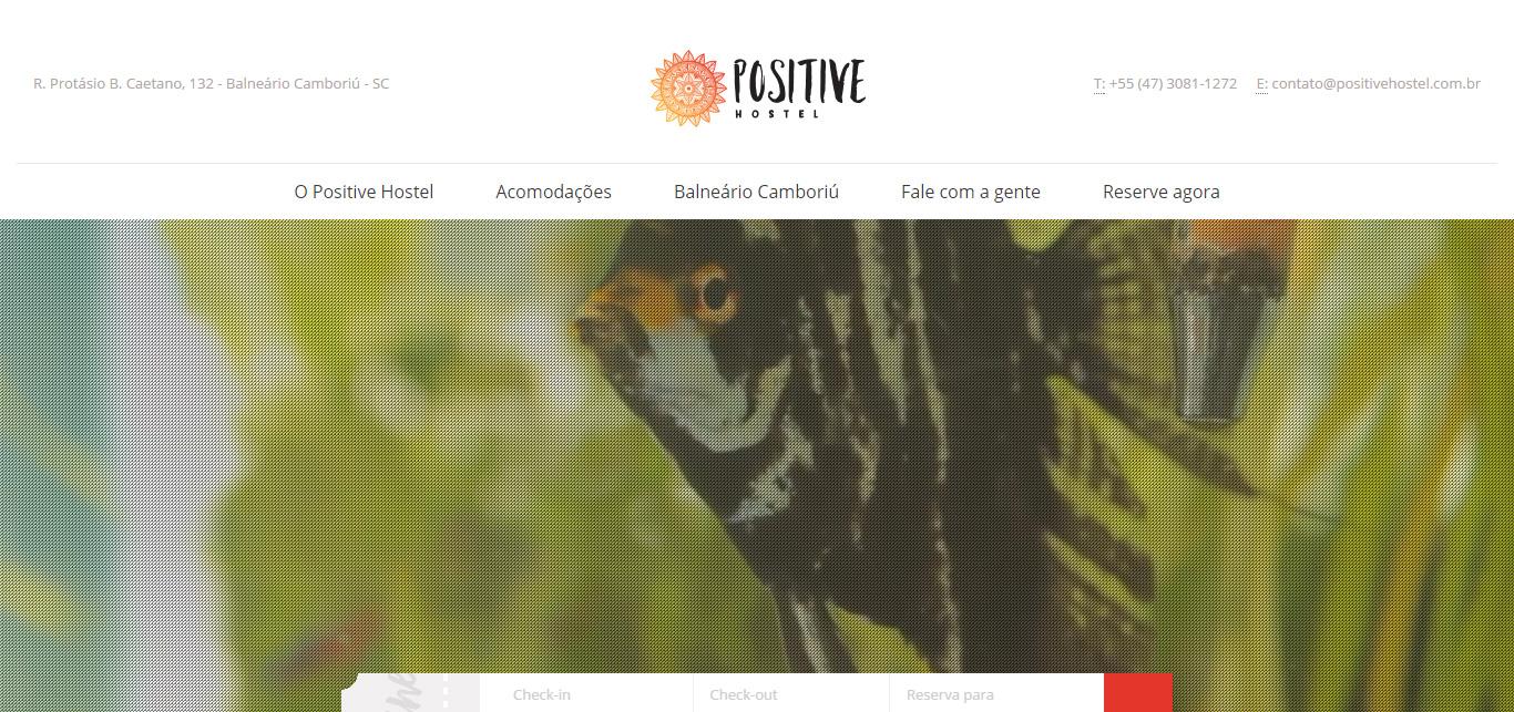 Imagem do site do Positive Hostel